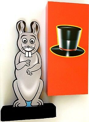 COLOR CHANGING BUNNY RABBIT Stage Kid Show Magic Trick Magician Hippity Hop NEW