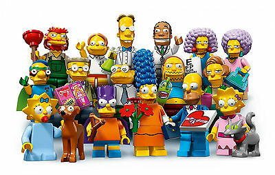 Genuine Lego Simpsons 71009 Series 2 Minifigures From £1.49 Each - Free Postage