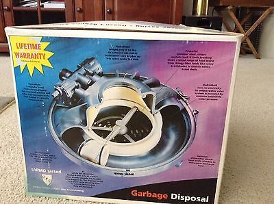 Hydromaid Water Powered Waste and Garbage Disposer Non Electric