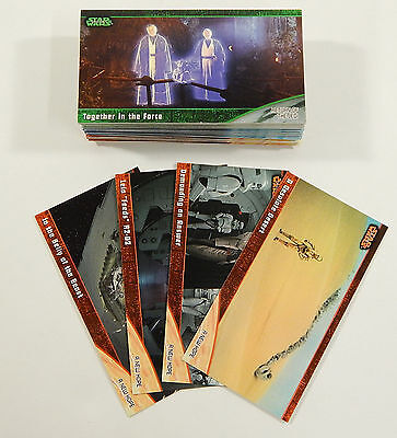 Star Wars - Trilogy - Complete Trading Card Set (72) - Topps 1997 - NM