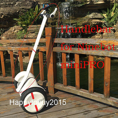 Adjustable Alloy Handlebar Stand up Trolley Handle Control for Ninebot Mini Pro