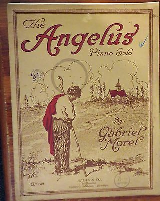 The Angelus Piano Solo By Gabriel Morel Vintage