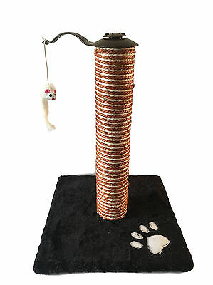 Cat Scratcher Kitten Tree Gym House Simple Scratching Post Furniture Base w Toy