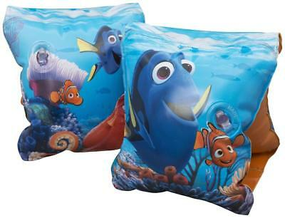 FINDING DORY Kids Inflatable Armbands Boys & Girls Beach Swimming Pool Holiday
