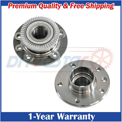 2 New Front Left/Right Set Wheel Hubs & Bearings for 97-01 Cadillac Catera