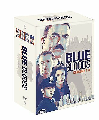 Blue Bloods 1-5 Complete Season / Series 1 2 3 4 5 Dvd Box Set Englisch