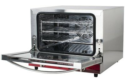 Countertop Electric Convection Oven Commercial Restaurant Sandwich Shop Cooking