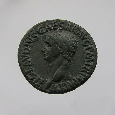 Claudius Bronze 'As' Reverse: Minerva