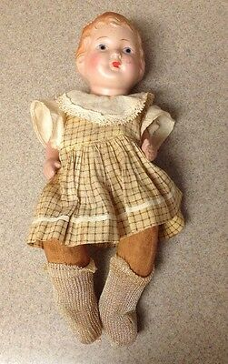 Lovely Vintage 1930s Gold Doll Company Doll (KP116)