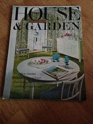 House And Garden Magazine May 1964 Vintage Advertising 1960's Gardening Home