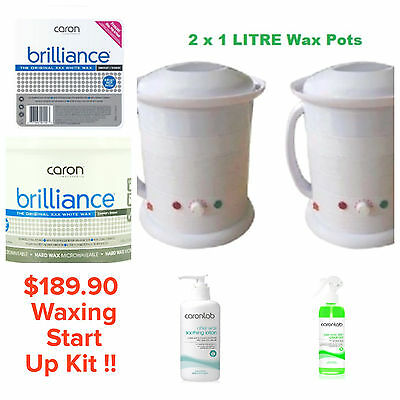 Start Up salon Waxing Kit Professional Hair Removal Beauty Therapist For Sale