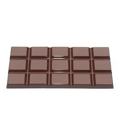 4 Cavity Chocolate Bar Molds Clear Hard Plastic Polycarbonate PC Mould