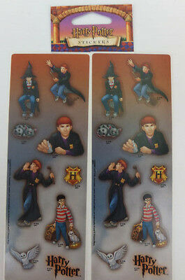 Harry Potter & Ron Stickers 2 Sheets 1 Package OOP