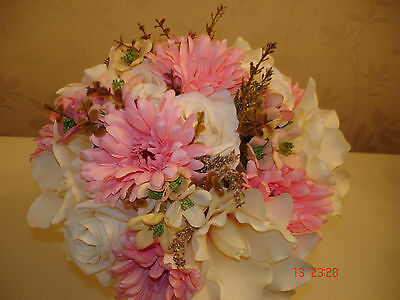 Quality Bridal Bouquet Bridesmaid Buttonholes Corsage Bespoke  Summer Wedding