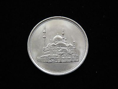 Nice Uncirculated 1984 Egypt 10 Piastres Coin Lot 17798