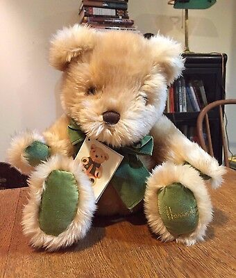 Harrods Knightsbridge Plush Honey Teddy Bear Ten Teddies Anniversary w/ Hangtag