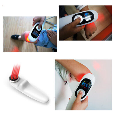 NEW Portable 650nm&808mn LLLT Cold Laser Therapy Body Pain Relief Rehabilitation