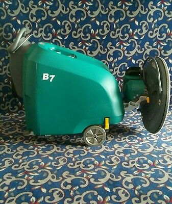 "New Tennant 27"" battery powered floor buffer with zero hours and FREE shipping!"