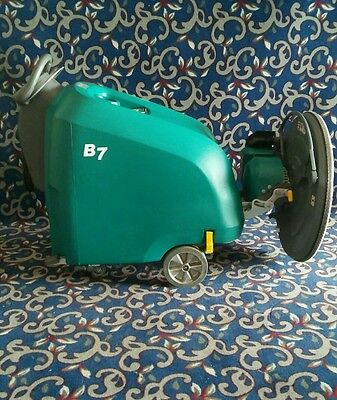"Tennant 27"" battery powered floor buffer with low hours - just add batteries"