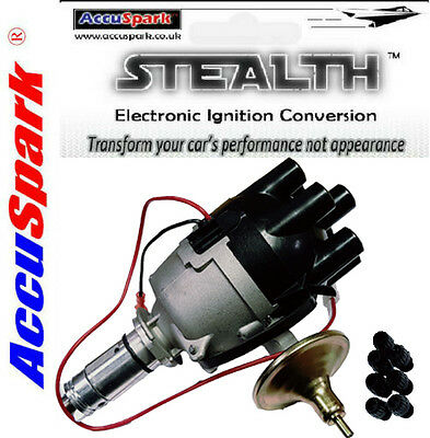 AccuSpark Electronic Distributor with Screw Top for Jaguar E-Type & MKII