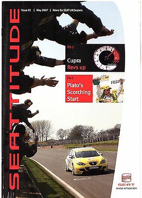 Seat Seattitude Magazine Issue 1 May 2007 UK Market Dealer Only Brochure