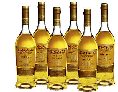 Glenmorangie Original 10 yr Single Malt Scotch Whisky 700ml *6 Bottles