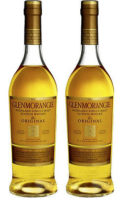 Glenmorangie Original 10 yr Single Malt Scotch Whisky 700ml *2 Bottles