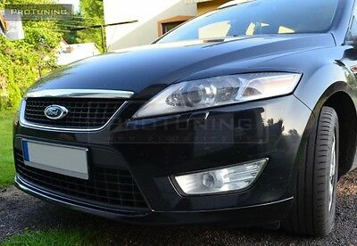 FORD MONDEO MK4 07-13 Eyebrows Eyelids Eye brow lid mask tuning RS headlight set