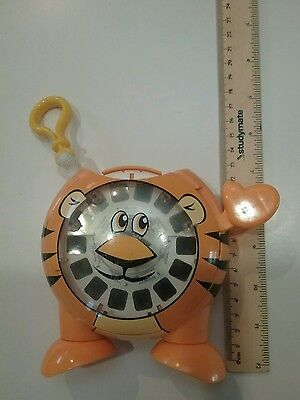 2006 Orange Tiger Viewmaster View Master toy with disc