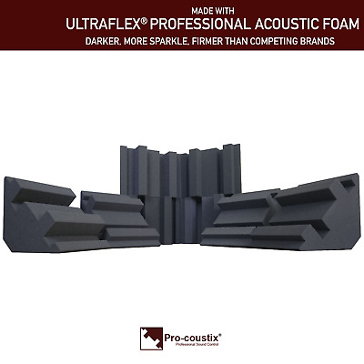 Genuine Pro-coustix Ultraflex High Performing Bass Traps 300mm x8 Traps