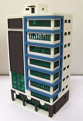 Outland Models Railway Colored Modern City Building Tall Shopping Mall N Scale