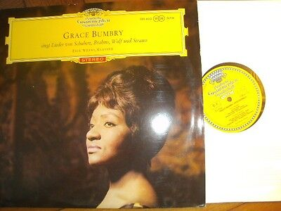 GRACE BUMBRY Song Recital Orig. 1ED DGG 138635 RED STEREO LP 1962