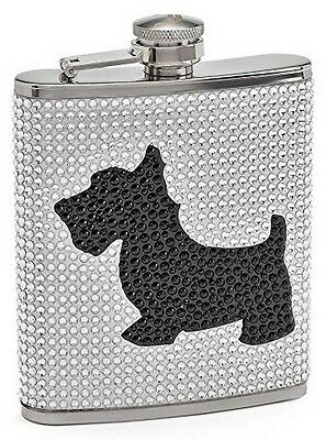 Juicy Couture Stainless Steel Flask - Limited Edition (Silver)
