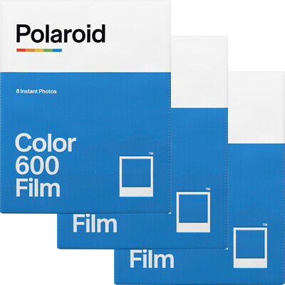 3 Pack Impossible PRD4514 Color Instant Film for Polaroid 600 Type Cameras
