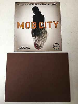 Mob City Promo Press Kit Book DVD TV TNT Memorabilia Mobsters Gangsters Bugsy +