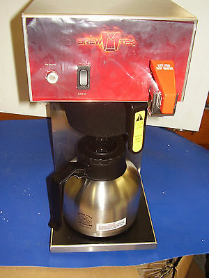 BREWTEK Commercial  AUTOMATIC COFFEE BREWER Coffee  Maker WITH FAUCET NEW