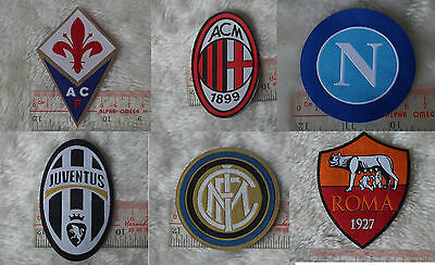 uk Italy Serie A league soccer football iron-on embroidered patch applique badge