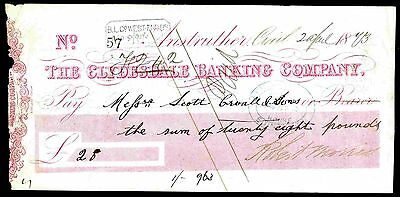 The Clydesdale Banking Company, Anstruther, 18(73).