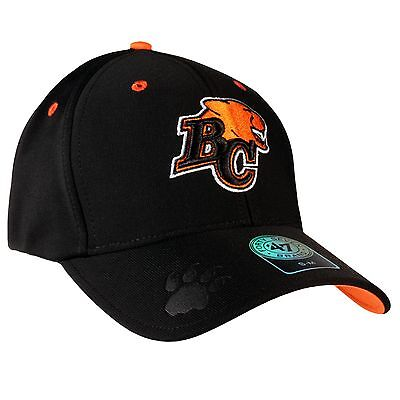 BC Lions CFL Big Boss Stretch Fit Cap