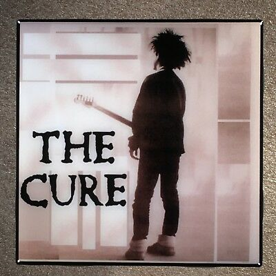 THE CURE In Concert Coaster Ceramic Tile - Robert Smith