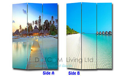 Room Divider / Canvas Screen / Folding Screen / Privacy - NEW4