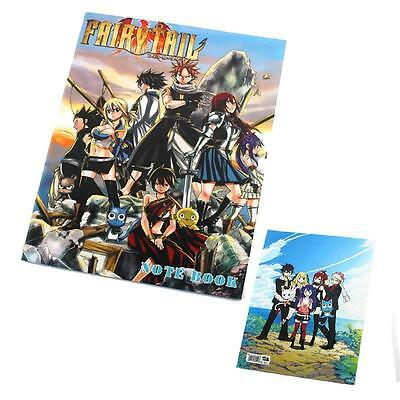 Anime Fairy Tail FT Notebook Note Pocket Book Collection Cosplay Gift