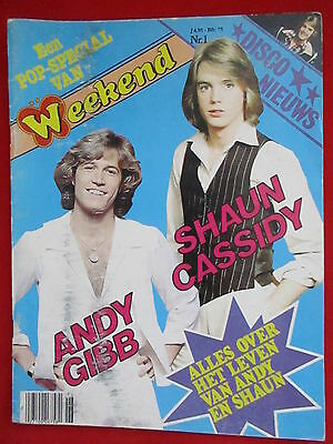 "Andy Gibb & Shaun Cassidy - ""weekend Pop Special"" 1/1978 (Nl) -"