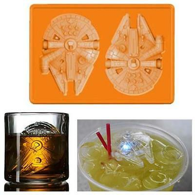 Creative Star Wars Ice Plateau Ice Cube DIY Moule Pudding Jello Mold Falcon EH