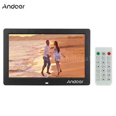 """15.6"""" FULL HD Digital Photo Frame Picture Clock Movie Player With Remote Control"""