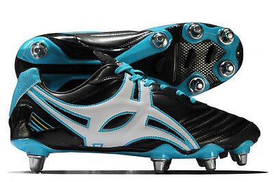 Gilbert Forwards Academy Lo 8 Stud SG Rugby Boots:(UK 7 - 13)
