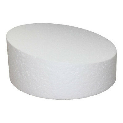 6 Inch Round 4 Inch Deep Wonky Professional Cake Dummy