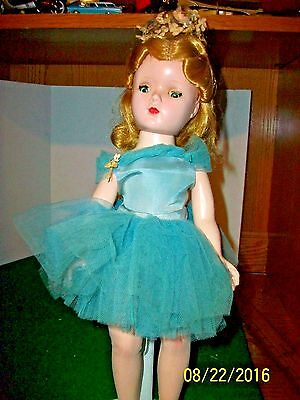 Vintage Madame Alexander Margot Ballerina 14.5 inch Doll in Tagged Outfit