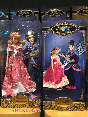 Le6000 Cinderella Lady Tremaine Doll Disney Store Limited Designer Version