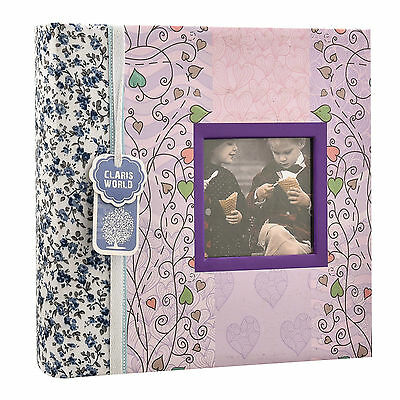 "6""x4"" Designer Quality Photo Album with Window and 200 Slip In Memo - AL-9769"